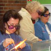Refresher class in glass beadmaking basics