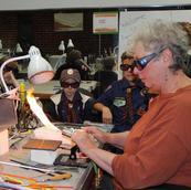 Group demos in lampworking
